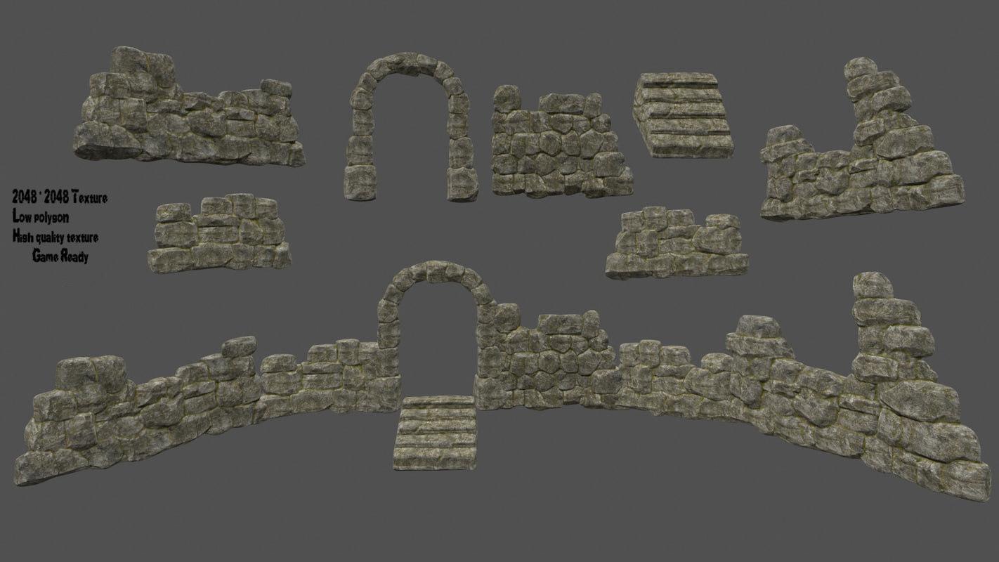 door wall 3D