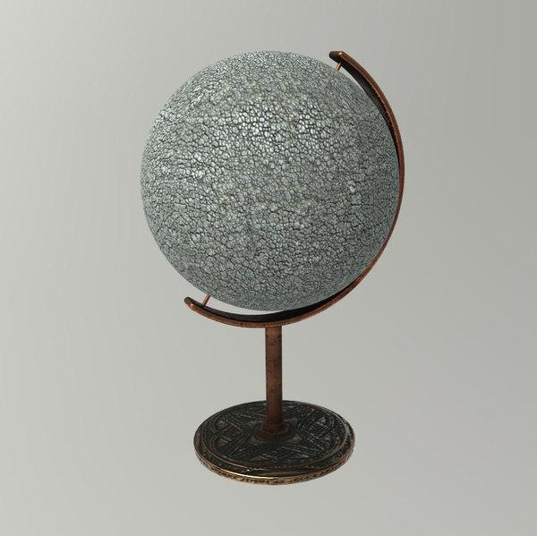 free 3ds model globe