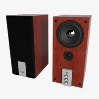 speakers sven 3D model