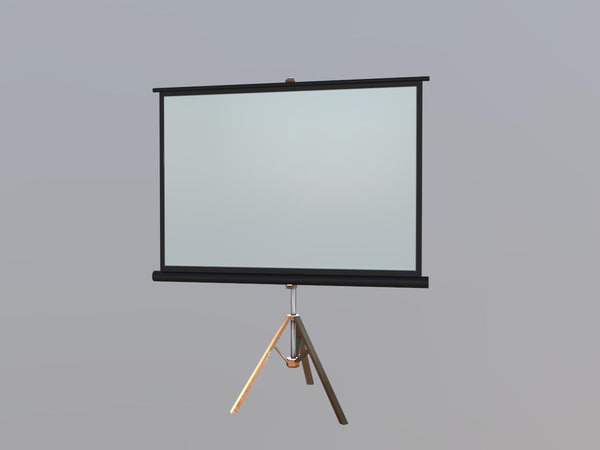 projector screen obj free