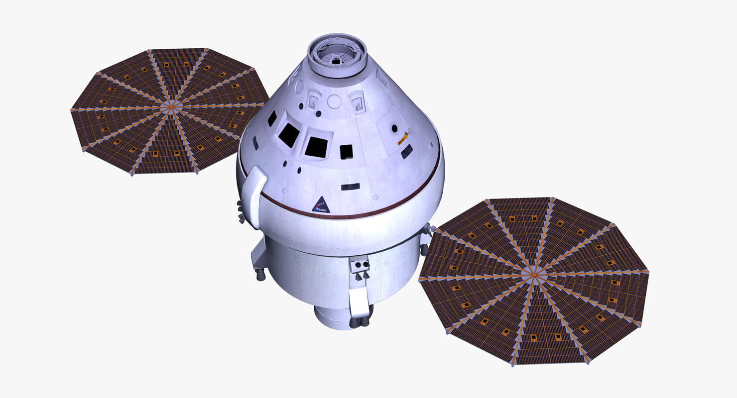 orion space capsule 3d model