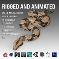 Animated Boa Constrictor