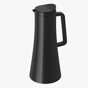 3d model of coffee carafe