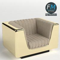 armchair 6 3d model