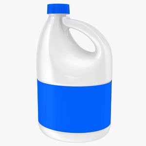 3d model bleach bottle
