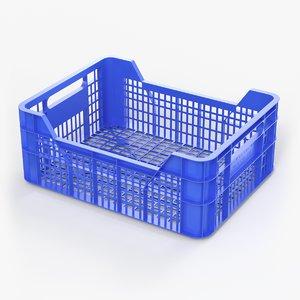 3D plastic box