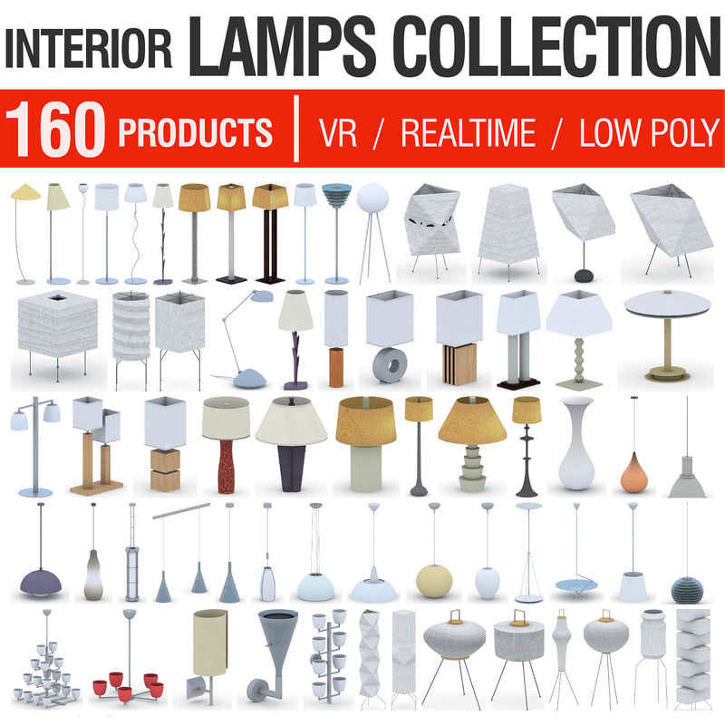 3D light fixtures - 160 model