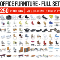 Office Furniture Collection - Full Set