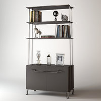 Baker Living Room Iron Eye Etagere
