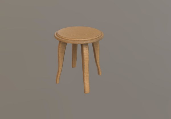 free chair room 3d model