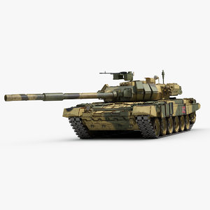 3d russian battle tank
