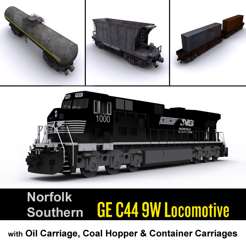 ns norfolk southern locomotive max