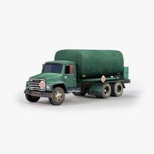 3D tanker truck tank