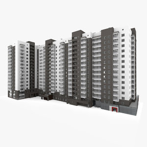 3D residential apartment