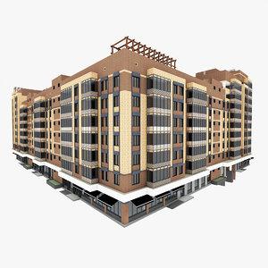 residential 3d c4d