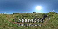 HDRI Adygea Lago Naki plateau 3