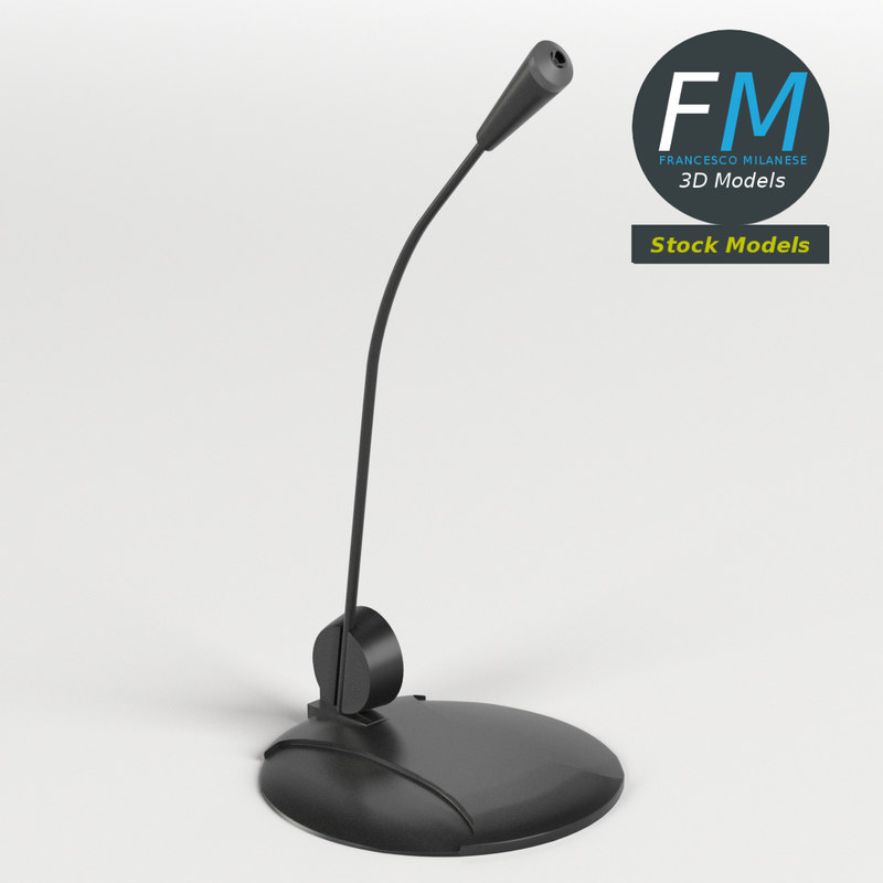 3D desk microphone hr