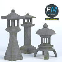 japanese toro lanterns hr model