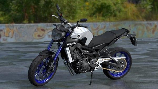 yamaha mt-09 3D model