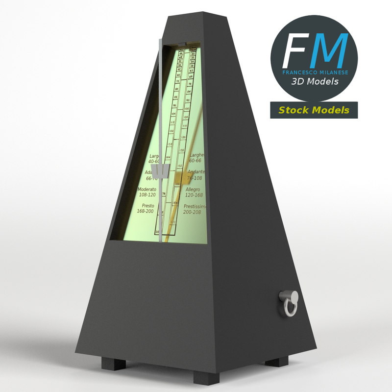metronome hr 3D model