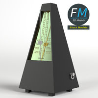 metronome hr 3D model