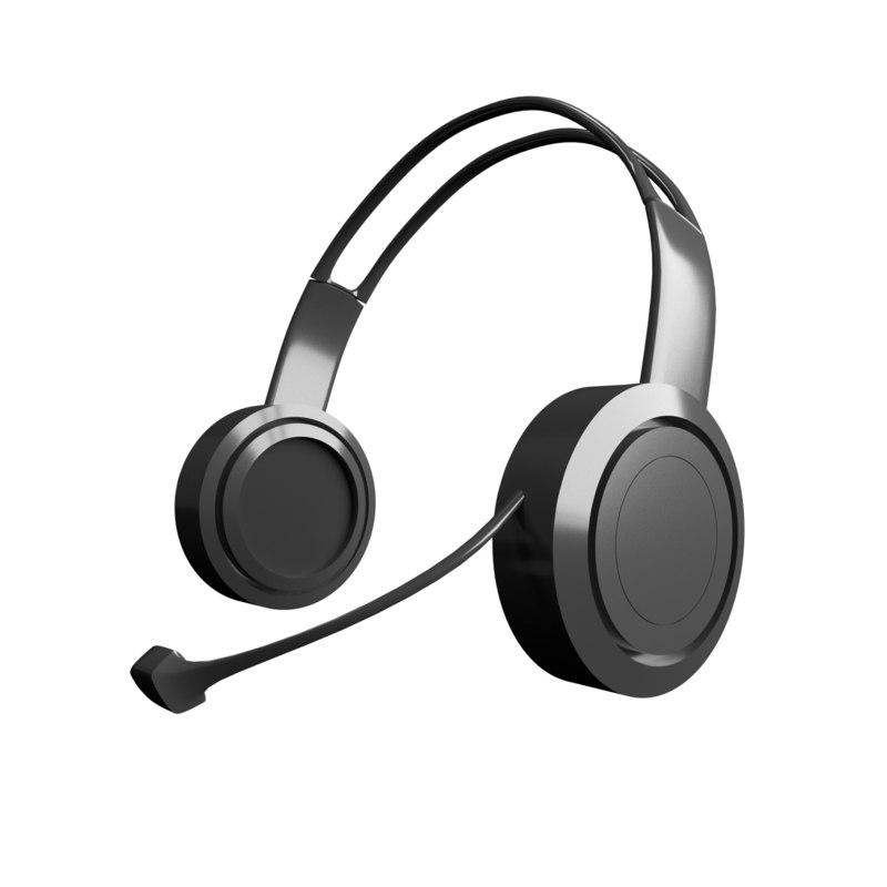 3D generic headphones