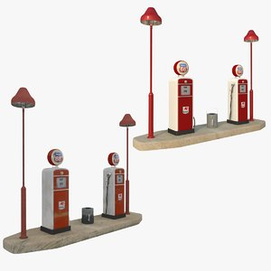 maya petrol station old