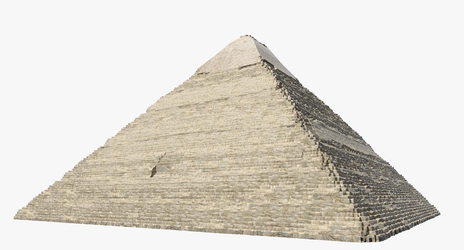pyramid khafre 3d model