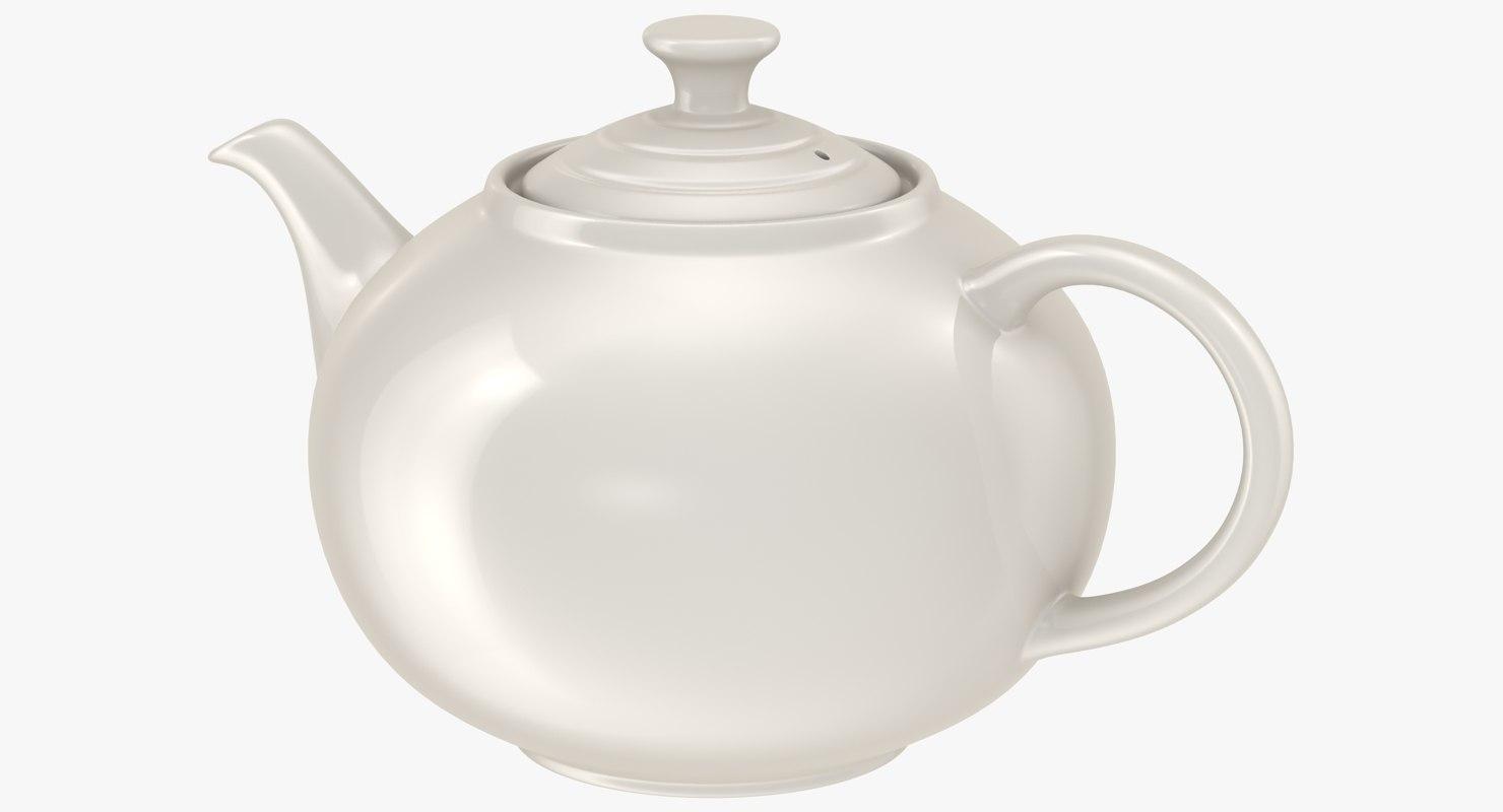 3d model teapot subdivided