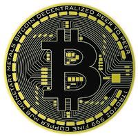 Bitcoin Vector Art