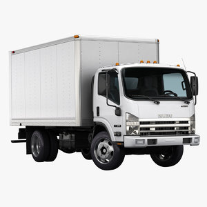 2016 isuzu npr gas 3d model