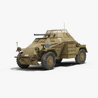 SDKFZ 222 Leichter Panzerspähwagen