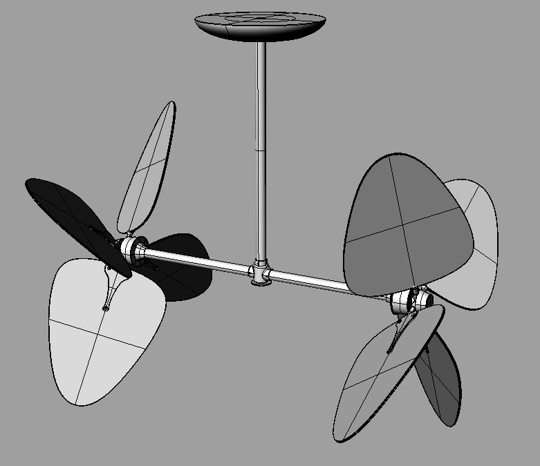 ceiling fan 3dm