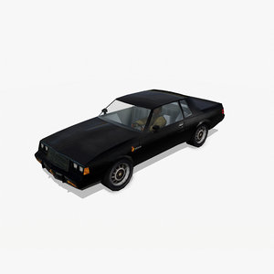 3d model of buick grand national