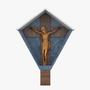 3D marterl jesus model