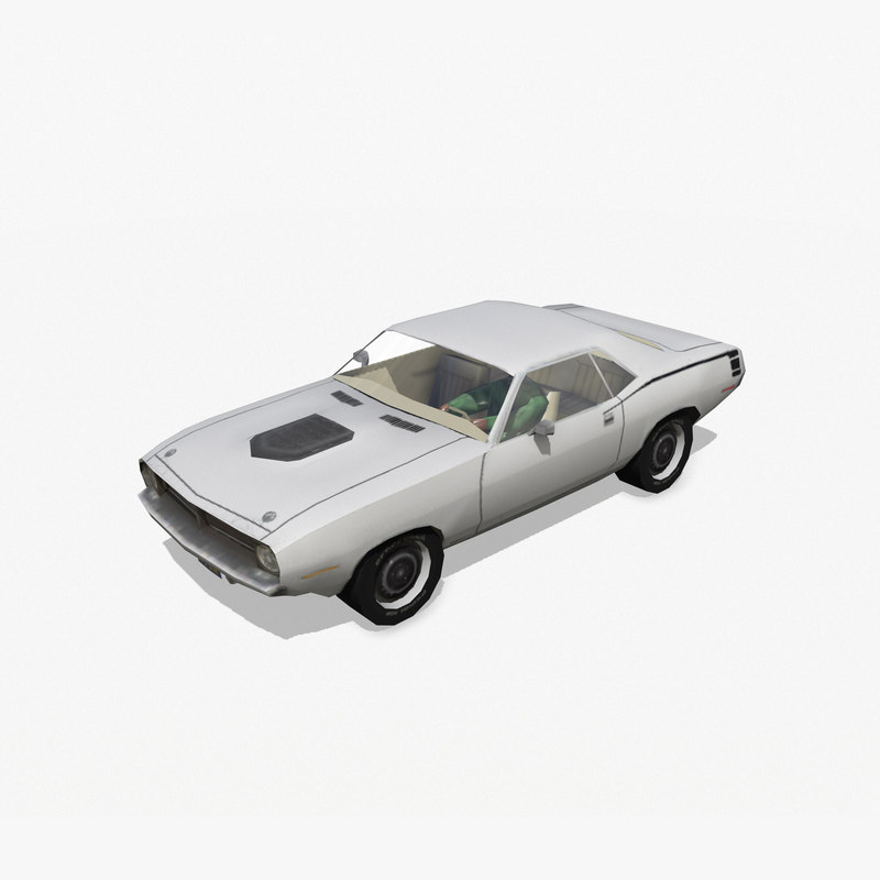 plymouth barracuda 3d 3ds