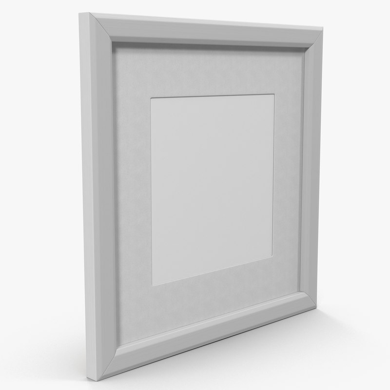 picture frame 1 - 3d max