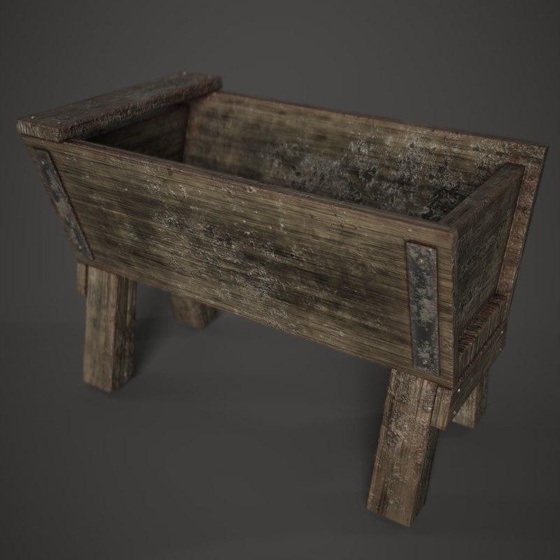3D medieval architecture