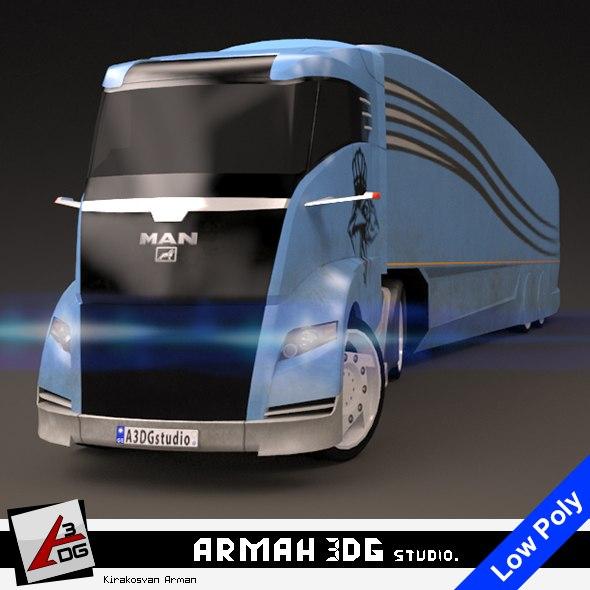 man concept s car 3D model