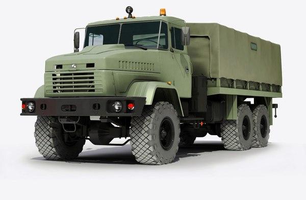 3d truck 6x6