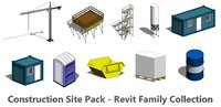 Construction Site Pack - Revit Family Collection