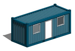 Office Container 20ft (Revit)