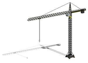 Parametric Tower Crane (Revit)