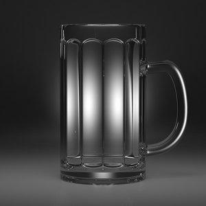 beer mug 3d max