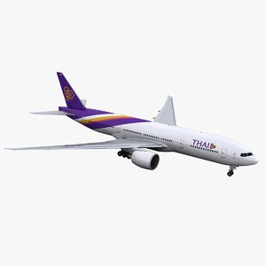 3D 777-200 thai airways