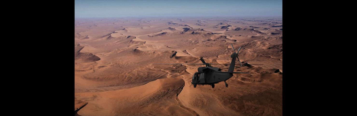 3D uh-60