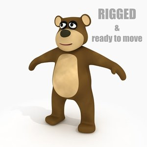 max cartoon bear rig