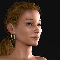 Young Woman (Athena R3)