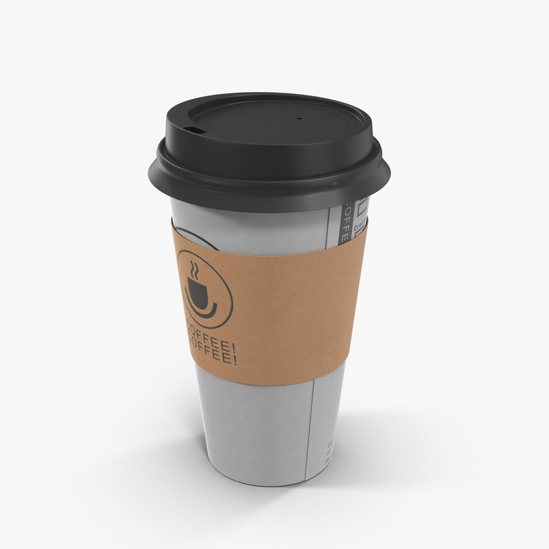 to-go coffee cup 3D