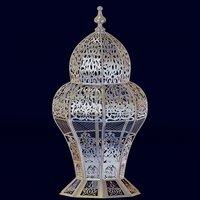 Floral moroccan lantern